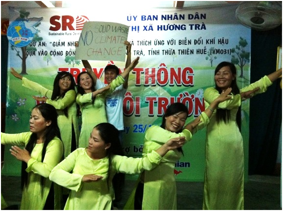 Thua Thien Hue project says yes to clean and green roads and no to climate change  1